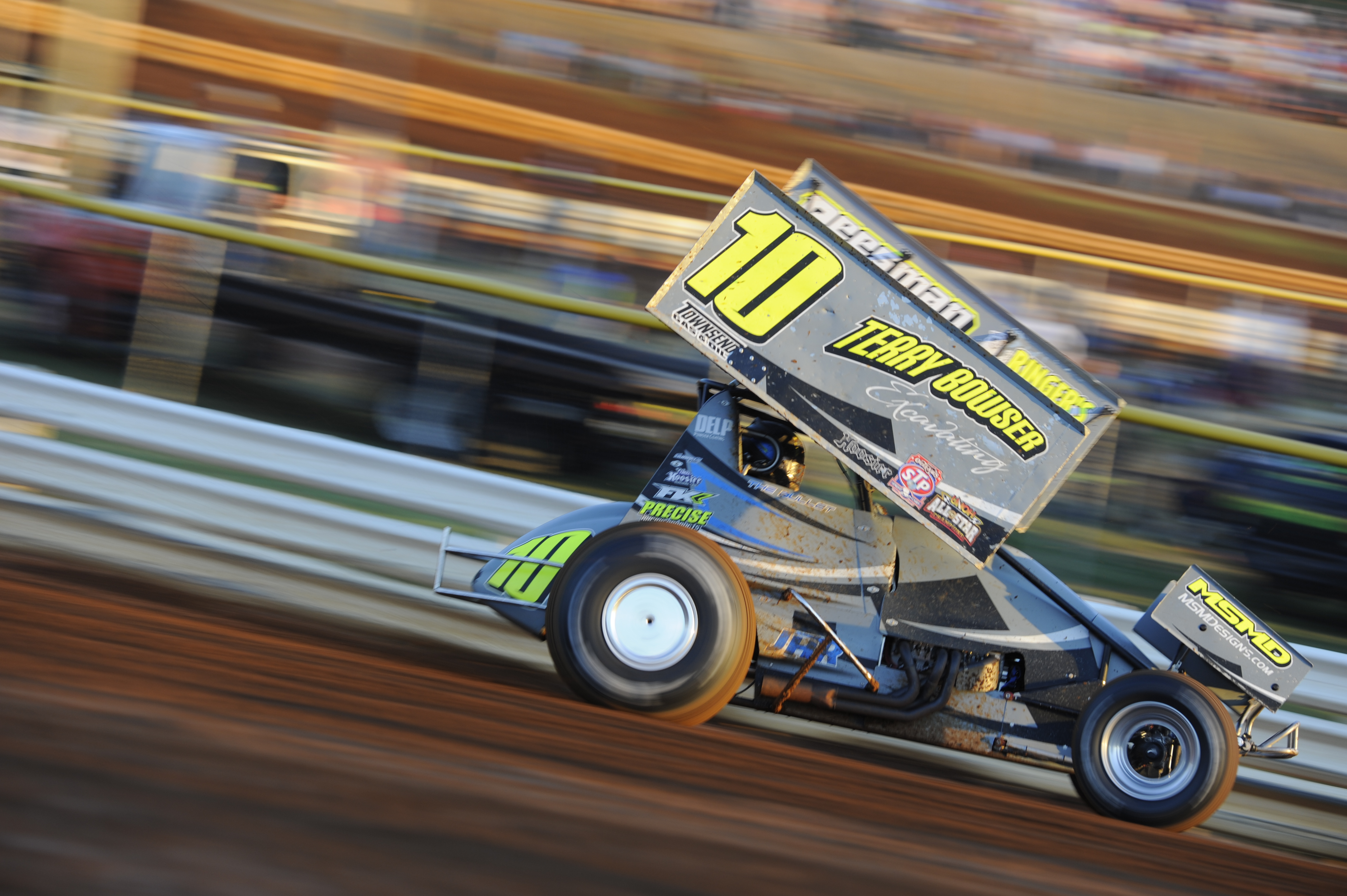 Carl Bowser at Lincoln Speedway